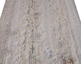 3D asset Dirt Road Scan