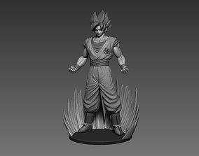 Son Goku Dragonball fan-art statue 3dprint miniatures
