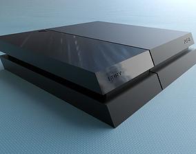 PS4 Raspberry Pi case 3D printable model