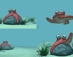Starfish Rigged Character 3D model