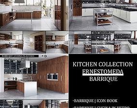 3D model Kitchen collection Ernestomeda