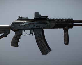 New-generation AK12 machine-Gun 3D model