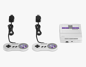Super Nintendo Entertainment System Classic Edition 3D
