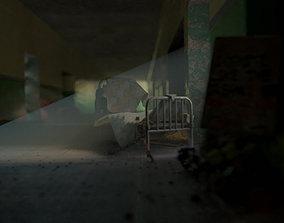 3D Asylum Hallway
