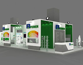 Exhibition Stand - ST0068 3D