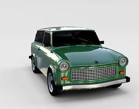 3D Trabant 601 estate rev