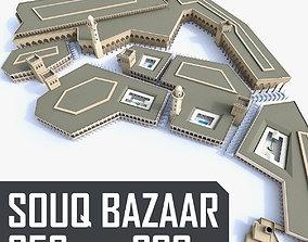 3D model Souq Bazaar Market