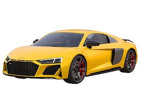 3D model Audi R8 coupe V10 Performance Quattro 2019