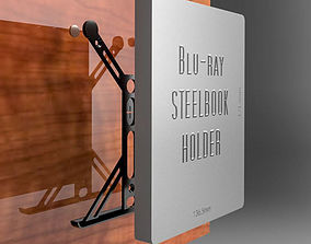 3D print model Blu-ray Steelbook holder