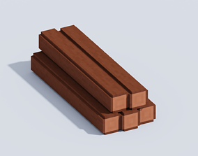 3D model VOXEL LOG T1