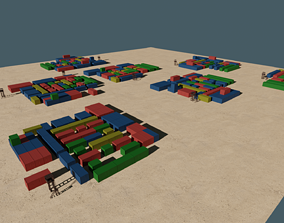 3D asset PUBG Georgopol Map