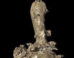 jewelry 3D printable model The Bodhisattva