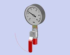 3D model Manometre Diametre100VB