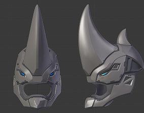 Rhino spiderman ps4 helmet 3D printable model