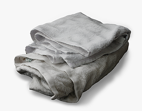 3D asset Folded Towel