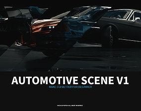 setup Automotive Scene V1 3D model