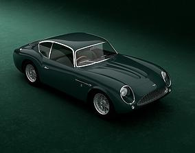 3D PBR Aston Martin DB4GT Zagato 1960-1963