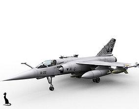 3D model Dassault Mirage F-1 spanish versions