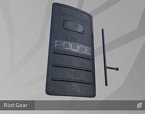Riot Gear 3D model