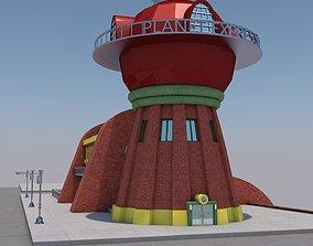 building planet express futurama 3D