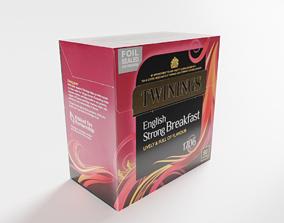Twinings Tea Package 3D asset