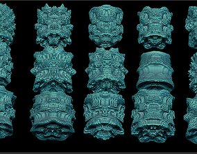 forms 15 fractal cylinder 3D print model