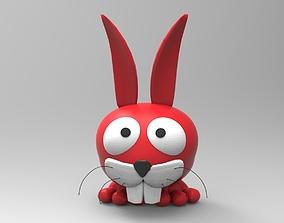 Rabbit Toy 2 3D print model
