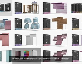 Window and Blind Generator Complete Collection 3D model