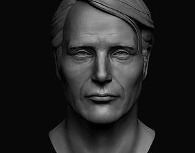 Hannibal portrait 3D print model
