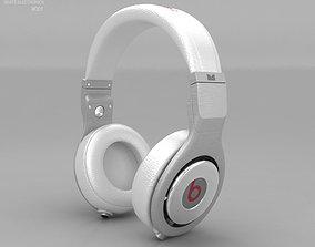 Beats by Dr Dre Pro White 3D