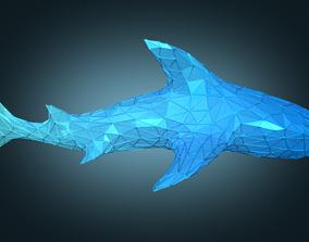 3D model Stylized Shark Figure