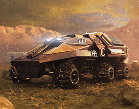 Mars Rover NASA prototype 3D model