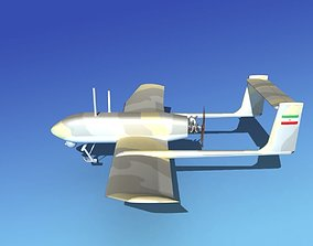 Mohajer 4 Drone V01 3D