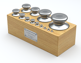 3D model Calibration Weight Set