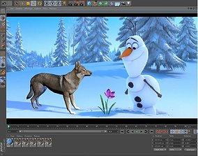 3D model Wolf Loup