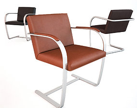 Knoll Brno Chair Collection 3D model