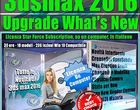 Corso 3ds max 2016 Upgrade What New Subscription un