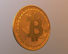 3D model Bitcoin