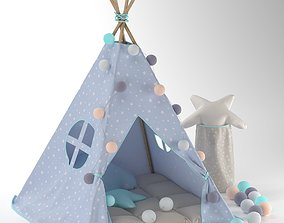 3D Childrens wigwam