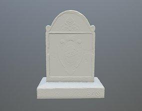 3D printable model tombstone 2
