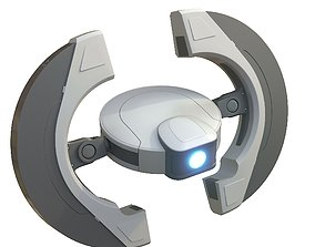 3D model Round drone
