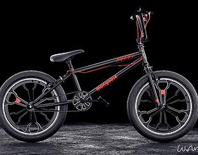 Mongoose Rebel BMX Bike 3D model
