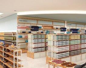 3D model indoors Store Design