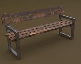 Bench 26 3D model