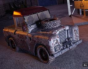 British Farm Pickup Addon 3D model