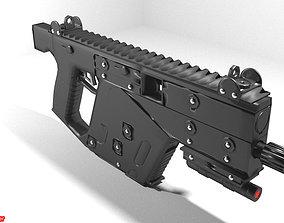 Submachine Gun - KRISS Vector SDP 3D