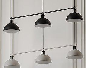 MENU HUBERT FRAME TRIBECA PENDANT LAMP by Soren 3D model