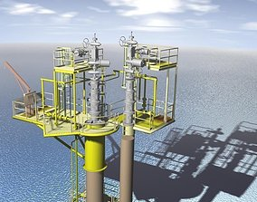 NCX caisson well protector 4 well 3D model