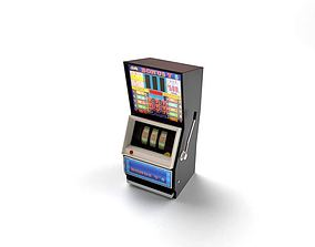 Electronic Slot Machine 3D model