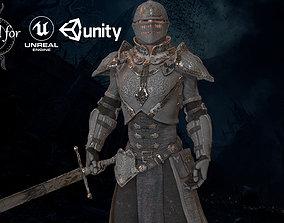 3D model Knight Man